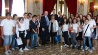 """""""A scuola di legalità"""", gli alunni dell'istituto """"Diego Vitrioli"""" in visita alla Provincia"""