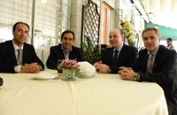 Aeroporto dello Stretto: dopo il collegamento con Venezia, Raffa incontra il presidente della compagnia aerea spagnola  Volotea