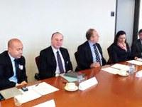 Bruxelles, il futuro del porto di Gioia Tauro al Parlamento Europeo: l'intervento del Presidente Raffa