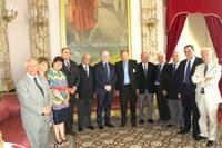 Delegazione del distretto Rotary 2100 in visita alla Provincia