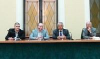 Delegazione di lavoratori di Piana Ambiente ricevuta dal presidente Raffa