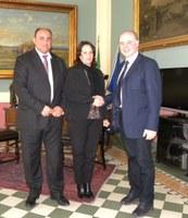 Il dirigente scolastico provinciale in visita alla Provincia: incontro con il Presidente Raffa