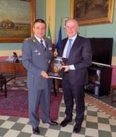 Il neo Comandante provinciale della Guardia di Finanza in visita alla Provincia