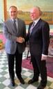 Il presidente della Provincia Giuseppe Raffa  ha ricevuto  ...