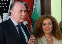 Il presidente Raffa alla cerimonia d'apertura del nuovo anno scolastico dell'Istituto comprensivo di San Luca