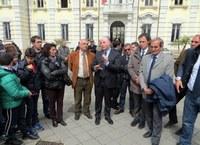 Il presidente Raffa all'assemblea popolare di Palmi sull'emergenza rifiuti