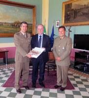 Il presidente Raffa incontra il colonnello Scicchitano