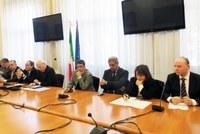La determinazione di Giuseppe Raffa alla riunione con il presidente dell'Anas Pietro Ciucci sullo svincolo A3 Bagnara - Sant'Eufemia