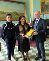 La Provincia dona un defibrillatore a una scuola calcio di Melito Porto Salvo