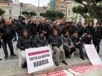 La solidarietà di Giuseppe Raffa ai manifestanti del comitato pro svincolo di Bagnara