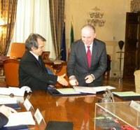 Protocollo d'intesa Governo Provincia, la soddisfazione del Ministro Renato Brunetta e del Presidente Giuseppe Raffa