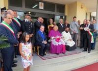 """Un """"patto d'amore per la Città"""", l'auspicio del presidente della Provincia nel saluto di benvenuto al nuovo arcivescovo Giuseppe Fiorini Morosini"""