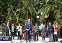"""""""Uno sforzo comune per vincere le sfide del momento"""", lo ha detto il Presidente Raffa alla cerimonia del 25 Aprile"""