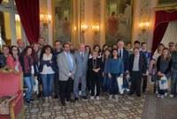 Visita alla Provincia degli studenti che partecipano al Certamen di lirica greca