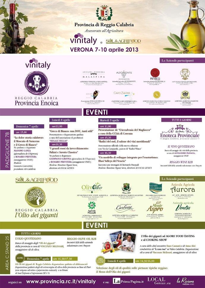 Eventi Vinitaly 2013